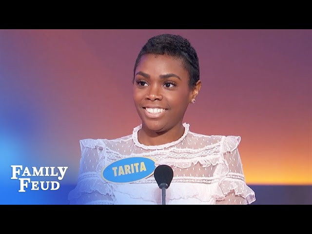 Here's why Family Feud is going off-air if the Burtons win!   Family Feud