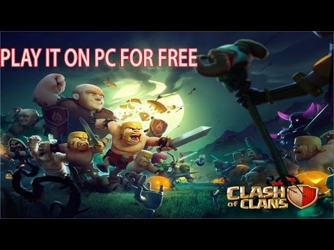 How To Dowload & Install Clash Of Clans In PC 2015 FREE Windows (7/8/8.1/9/10)