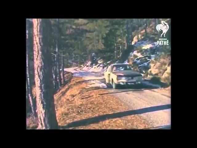 Monte Carlo Rally 1968