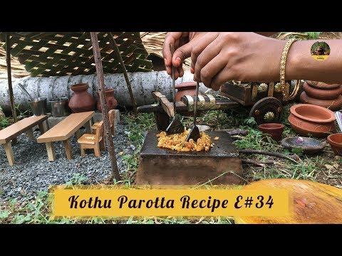 Miniature Kothu Parotta | E#34 | Mini Egg Paratha Recipe | Miniature Cooking Show