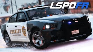 LSPDFR E167 - Killed By A Dog! | Snow Patrol & Charger PPV
