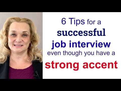 6 Tips for a Successful Job Interview Even If You Have a Strong Accent | Accurate English