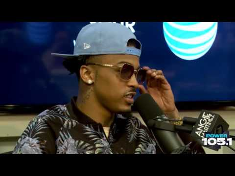 August Alsina Chats w/ Angie About His Eye Disease, New Music More 7-2-2015