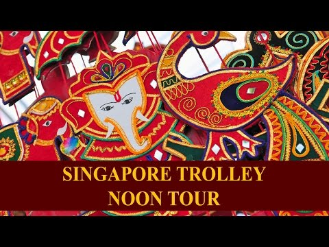 Singapore Trolley - Noon Tour at Little India & Kampong Glam