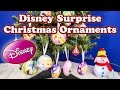 Opening Christmas SURPRISE ORNAMENTS EGGS with the Assistant