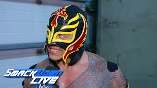 Rey Mysterio is grateful to be on Team SmackDown: SmackDown Exclusive, Nov. 6, 2018
