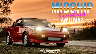 1987 Toyota Mk1 MR2 AW11 Review and Drive - Why it's a little bit of Magic on 4 wheels