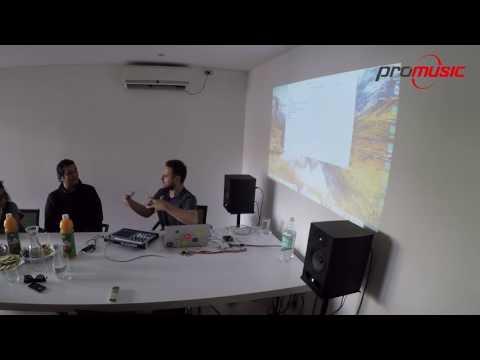Demostración de Trigger Finger Pro de M Audio por Richi Tunacola en oficinas de Promusic