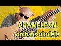 Pigotello Plays Chameleon Herbie Hancock On Bass Ukulele Harley Benton mp3