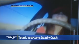'I Killed My Sister': Instagram Live Stream Shows Alleged DUI Crash