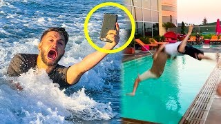'CAN IT SWIM' PHONE CHALLENGE!!!