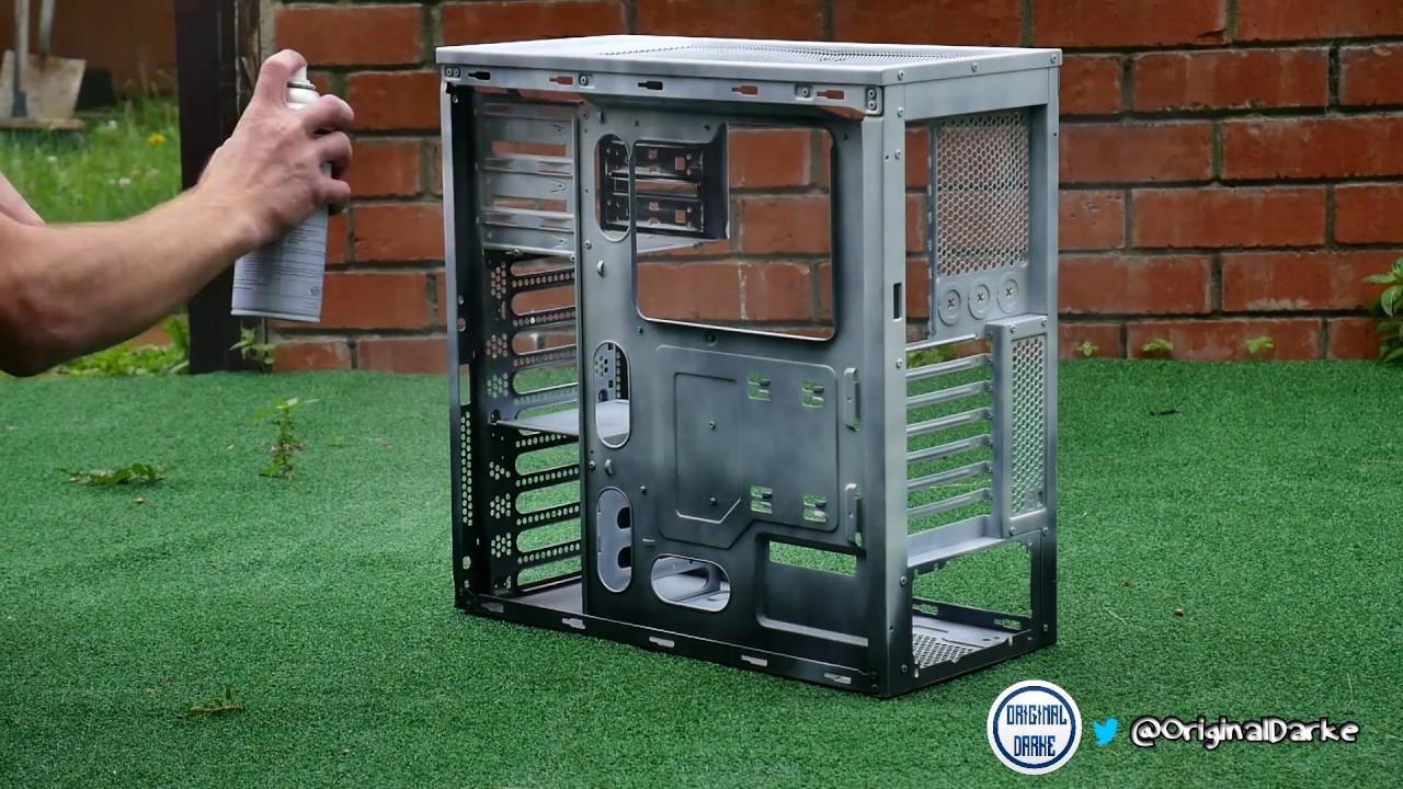Corsair 300r Case Respray Mod Part 2 Youtube Carbide Windowed Side Panel