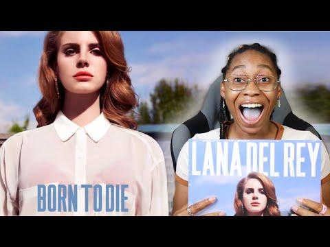 LANA DEL REY- BORN TO DIE ALBUM REACTION! 😳 FIRST REACTION TO LANA DEL REY!