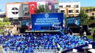 Okan Üniversitesi MYO 2014-2015 Mezuniyet Töreni