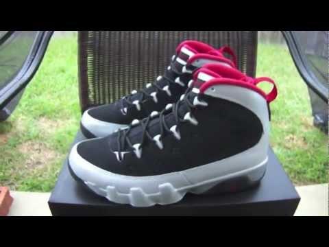 detailed look d31c6 06848 Air Jordan IX Johnny Kilroy and On Feet