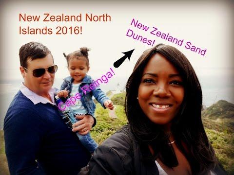 NEW ZEALAND SAND DUNES AND CAPE REINGA|North Islands!!