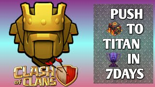 Coc TH10 Titan Trophy Pushing Strategy 2018 | TH10 vs TH10 | Clash of Clans | 🔥