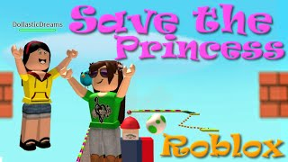 ROBLOX | Slide Down Mario's Tongue and Save the Princess | SallyGreenGamer