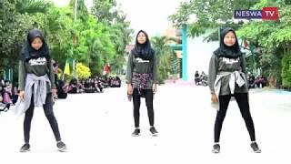 Dance Entah Apa Yang Merasukimu  Salah Apa  - Flashmop Ultah Smk Neswa