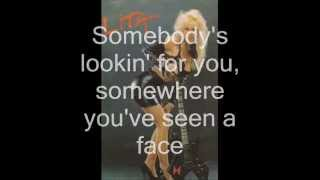 Lita Ford Back to the Cave (Lyrics)