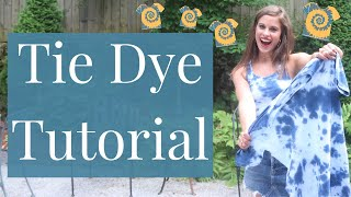 How To Tie Dye Tanks & Shirts | Family-friendly quarantine activity idea: tie dye tutorial