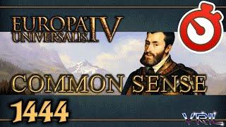 Europa Universalis 4 - Common Sense 1444 - 1821 Timelapse