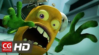 "CGI Animated Short Film: ""Attack Of The Potato Clock"" by Victoria Lopez, Ji young Na 