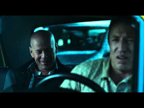 A Good Day to Die Hard 2013 russian taxi driver funniest  avi