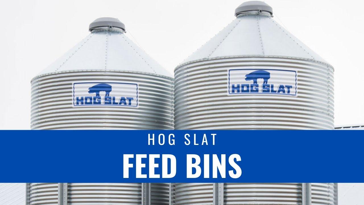 Hog Slat Feed Bins