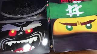 The LEGO Ninjago Movie Steelbook Blu Ray Unboxing (Best Buy Exclusive)