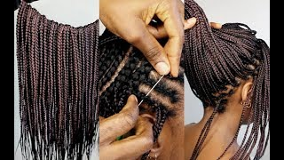 HOW TO: CROCHET BRAIDS FOR BEGINNERS ( step by step) Small Size