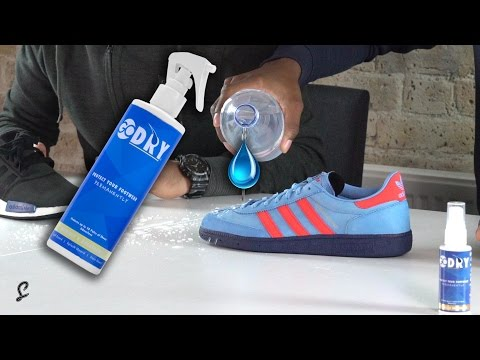 How to Waterproof Your Trainers - Go Dry Review | The Sole Supplier