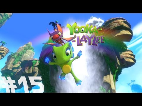 Yooka laylee let's play #15 Monde Glagla suite + Cash-Cash Casino PC ULTRA 4K
