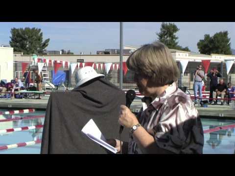 Steve Schofield Aquatics Center - Dedication at the Turkey Shoot Masters Swim Meet