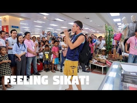 CANADIAN SINGING BISAYA AT A FILIPINO MALL IN MINDANAO - Unique Philippines Mall Tour!