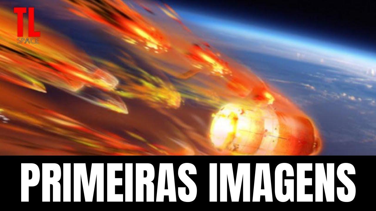 IMAGENS DO FOGUETE CHINÊS CAINDO NA TERRA 8 Maio 2021| Longa Marcha 5B