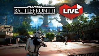 Star Wars Battlefront 2 - LIVE Multiplayer Gameplay with Arcade Mode!
