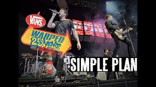 Gambar cover Simple Plan Live in Vans Warped Tour 2019 - Full Set (David is back!)