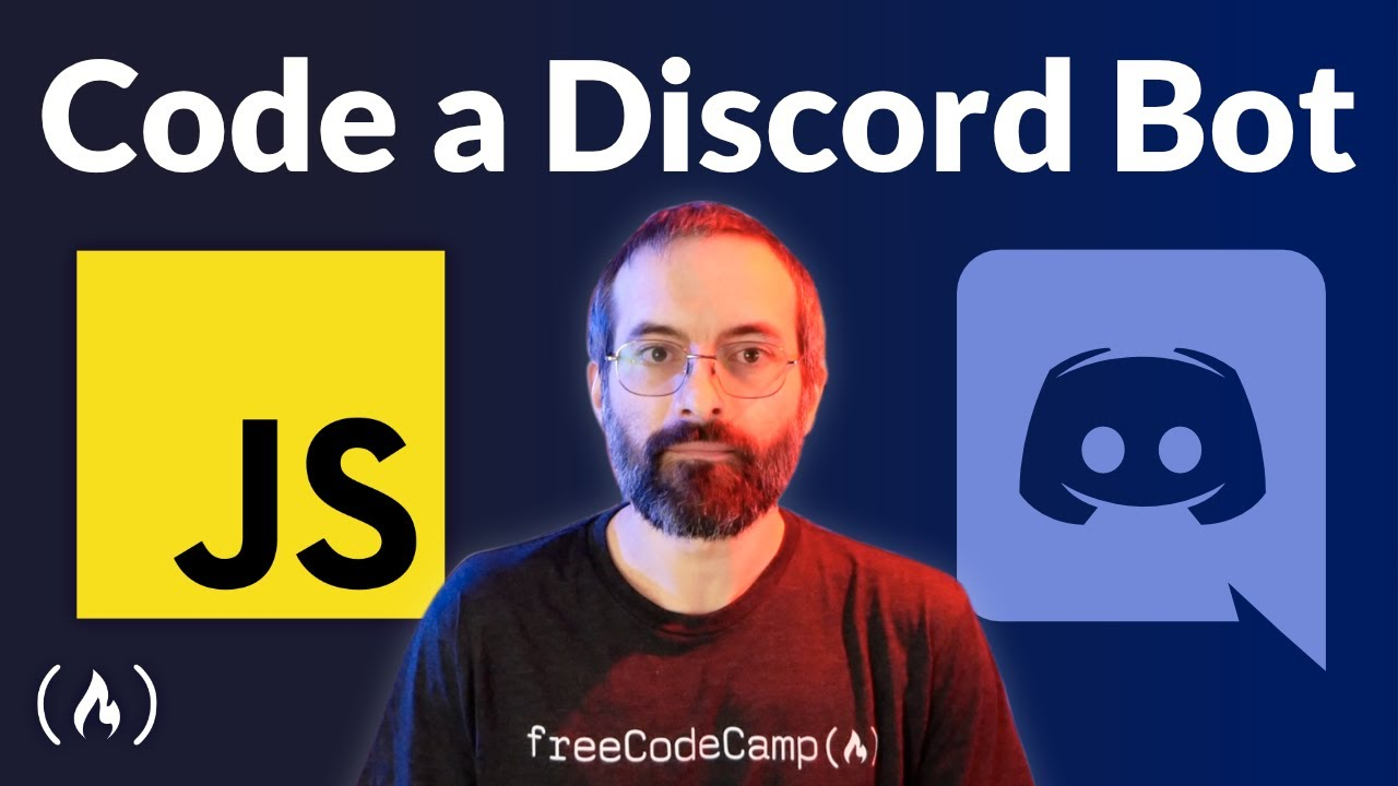 JavaScript Discord Bot Tutorial – Code a Discord Bot And Host it