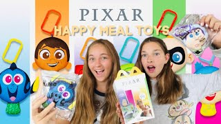 Disney Pixar McDonald's Happy Meal Toys Unpackaging and Box Review!! 2020