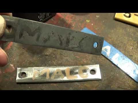 Metal Etching Name Tags
