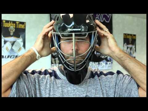 Properly Fitting A Goalie Mask Youtube