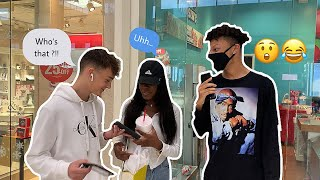 MAKING COUPLES SWITCH PHONES LOYALTY TEST 💔