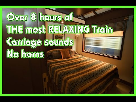 8 Hour Deep Sleep sounds music Train carriage : Delta Waves,
