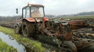 Extreme ploughing 2 Belarus Mtz 952.3