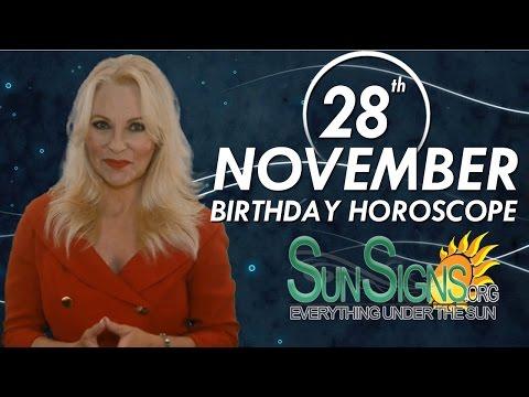 Birthday November 28th Horoscope Personality Zodiac Sign Sagittarius Astrology