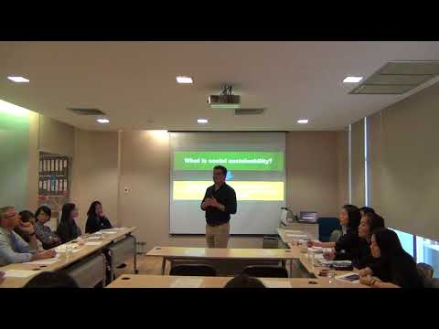Free workshop: Social Sustainability as Marketing Strategy