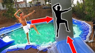 MEGA SLIP N SLIDE through IMPOSSIBLE SHAPES!