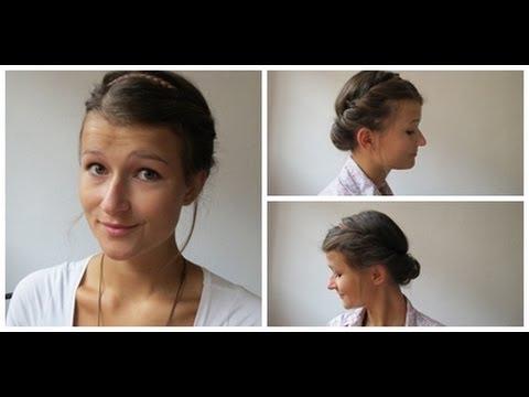 Haartutorial Eingedrehte Frisur Mit Haarband ♥ YouTube
