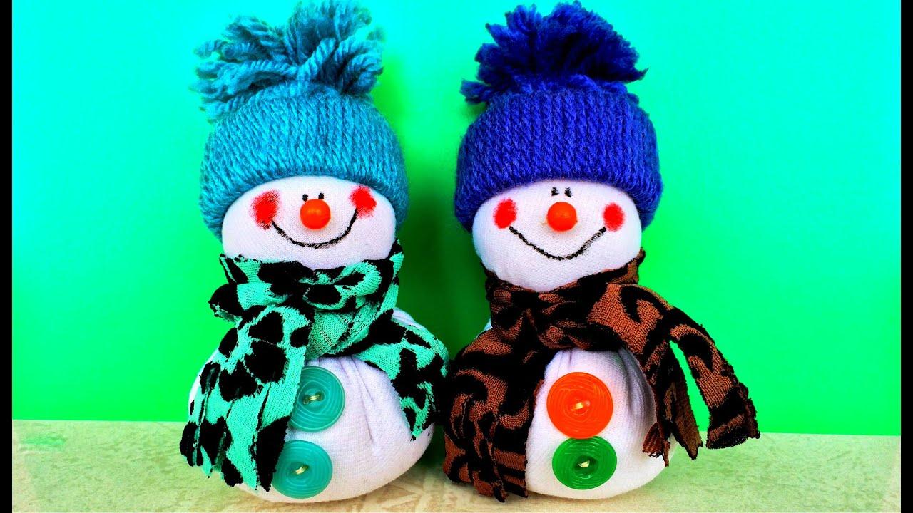 Игрушки своими руками снеговики из 547